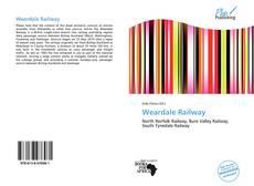 Capa do livro de Weardale Railway
