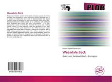 Обложка Weasdale Beck