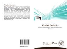Bookcover of Weather Derivative