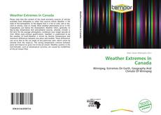 Couverture de Weather Extremes In Canada