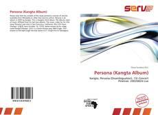 Portada del libro de Persona (Kangta Album)