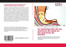 La participación de los menores de edad en los procesos de familia kitap kapağı