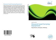 Copertina di Personal Load Carrying Equipment