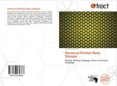 Portada del libro de Personal Printer Data Stream