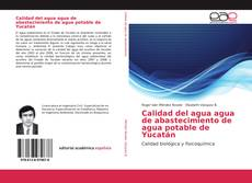 Bookcover of Calidad del agua agua de abastecimiento de agua potable de Yucatán