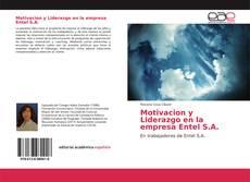 Buchcover von Motivacion y Liderazgo en la empresa Entel S.A.