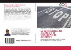 Bookcover of La satisfacción del cliente en el transporte de pasajeros