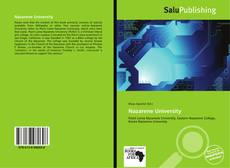 Portada del libro de Nazarene University