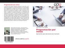 Copertina di Programación por metas