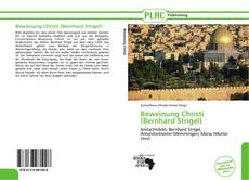 Capa do livro de Beweinung Christi (Bernhard Strigel)