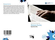 Roman Hurko的封面