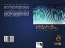 Обложка Springfield Township, LaGrange County, Indiana