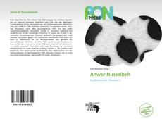 Anwar Nusseibeh的封面