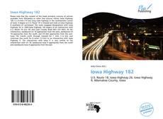 Bookcover of Iowa Highway 182