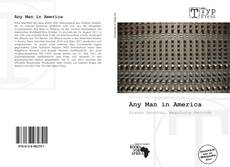 Обложка Any Man in America