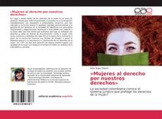 Обложка «Mujeres al derecho por nuestros derechos»