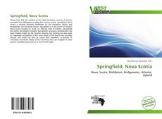 Bookcover of Springfield, Nova Scotia