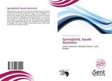 Borítókép a  Springfield, South Australia - hoz