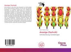 Anzeige (Technik) kitap kapağı