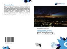 Capa do livro de Nazareth, Peru