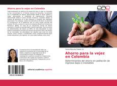 Bookcover of Ahorro para la vejez en Colombia