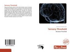 Bookcover of Sensory Threshold