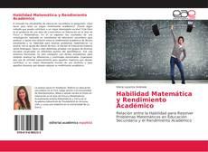 Buchcover von Habilidad Matemática y Rendimiento Académico