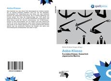 Bookcover of Aoba-Klasse