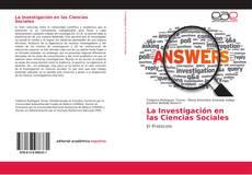 Обложка La Investigación en las Ciencias Sociales
