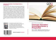 Bookcover of Ciencias Sociales: Investigaciones y Proyectos