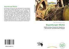 Обложка Beyenburger Mühle