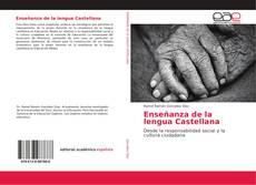 Portada del libro de Enseñanza de la lengua Castellana