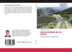 Buchcover von Historicidad de la Ética
