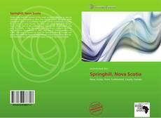 Bookcover of Springhill, Nova Scotia