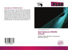 Bookcover of Springhouse Middle School