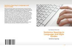 Portada del libro de Sentence Spacing in Language and Style Guides