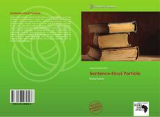 Bookcover of Sentence-Final Particle