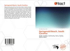 Portada del libro de Springmaid Beach, South Carolina
