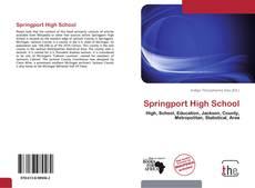 Обложка Springport High School