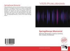 Buchcover von Springthorpe Memorial