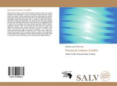 Bookcover of Personal Carbon Credits