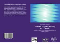 Bookcover of Personal Property Security Act (Canada)
