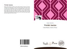 Bookcover of Virelai Ancien