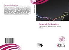 Personal Ordinariate kitap kapağı