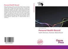 Bookcover of Personal Health Record