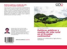 Portada del libro de Políticas públicas y medios de vida rural en el Ecuador continental