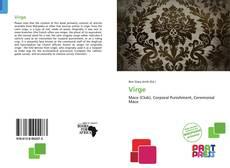 Virge kitap kapağı