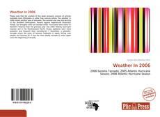 Buchcover von Weather In 2006