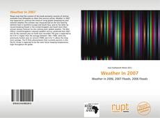 Bookcover of Weather In 2007