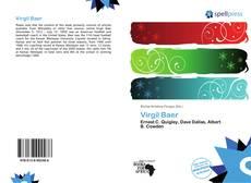 Обложка Virgil Baer